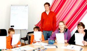 Galería de imagen de nuestra escuela de alemán en Viena