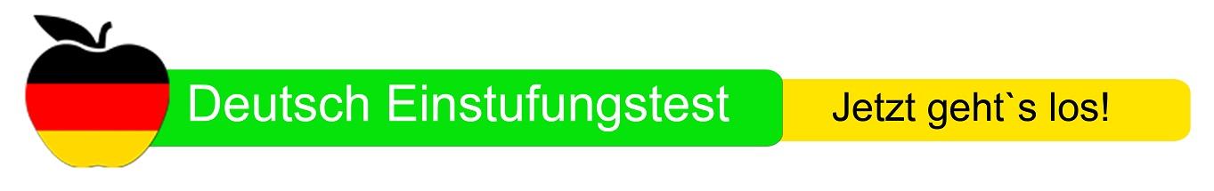 Deutsch Einstufungstest - Sprachschule Wien