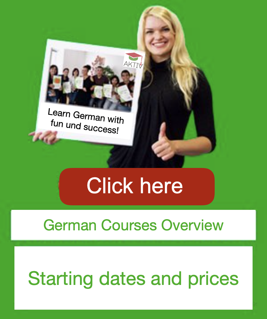 German courses prices dates