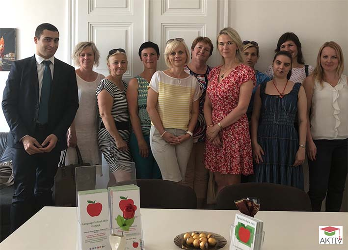 Leitbild und Firmengrundsätze Sprachschule Aktiv Wien