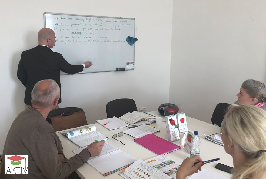 Private lessons in English, German, Spanish, Portuguese, Italian and French in Vienna