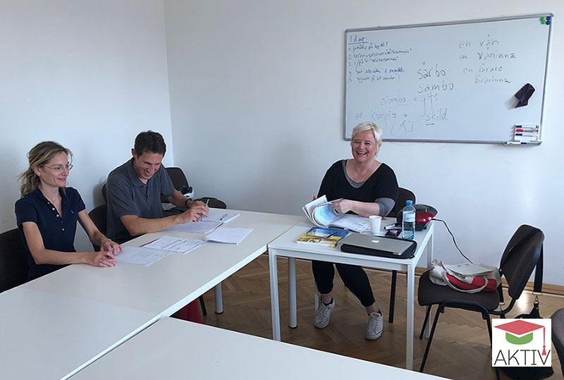 Sprachtrainer Sprachschule Aktiv Wien