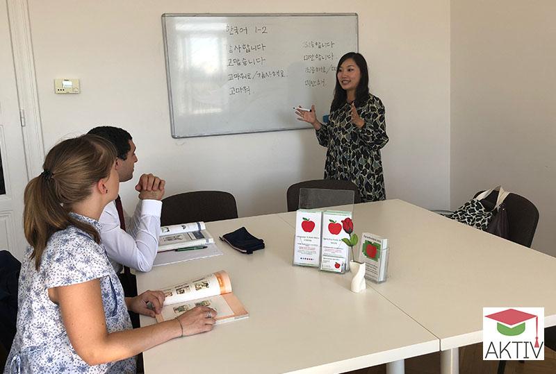 Koreanischkurse in Wien für Anfänger und Fortgeschrittene