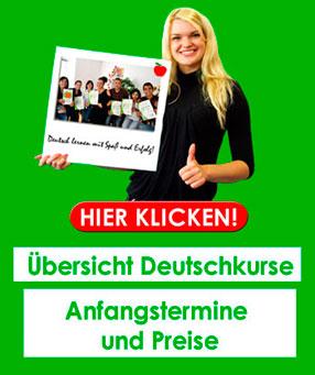Förderung für Sprachkurse - Deutschkurse