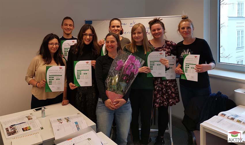 German integration course in Vienna