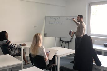 German courses on the weekend in Vienna