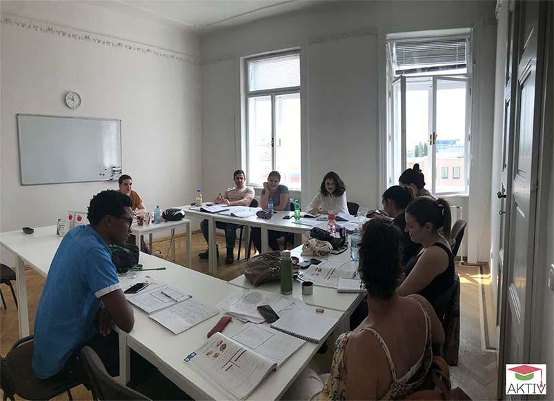 Intensive German courses in Vienna